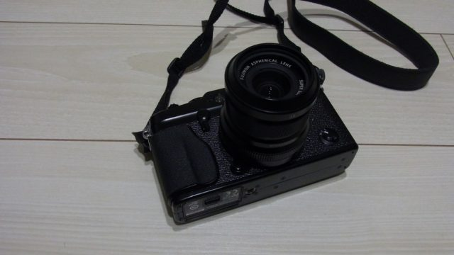 X-Pro1とフード